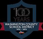 WCSD 100 year logo